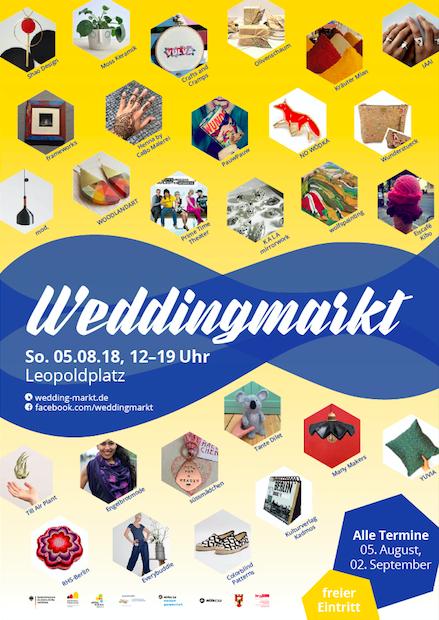 Plakat_Weddingmarkt_August