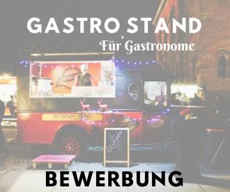 Bewerbung für Gastro Stand